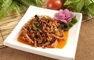 鱼香肉丝的做法-初级厨师培训内容